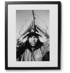 "Sonic Editions - Framed 1992 Ice Cube Print, 16"" x 20"""