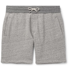 Mr P. Mélange Loopback Cotton-Jersey Shorts