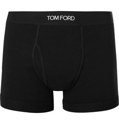TOM FORD - Stretch-Cotton Boxer Briefs