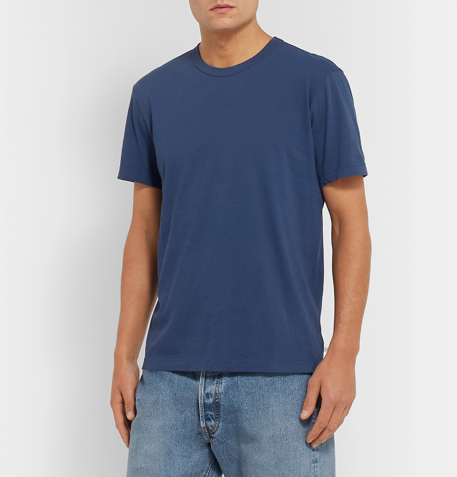 75989dfe18 James Perse - Combed Cotton-Jersey T-Shirt