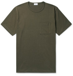 Handvaerk Combed Pima Cotton-Jersey T-Shirt