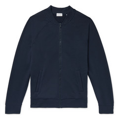 Handvaerk - Loopback Stretch-Pima Cotton Flex Bomber Jacket