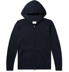 Handvaerk - Royal Alpaca, Cashmere and Silk-Blend Zip-Up Hoodie