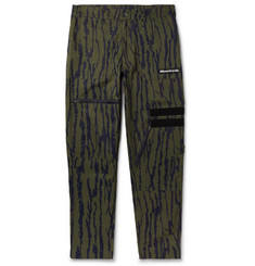 Billionaire Boys Club  Printed Cotton-Blend Cargo Trousers