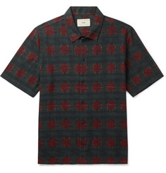 Folk + Goss Brothers Gabe Printed Cotton Shirt
