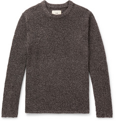 Folk Bouclé-Knit Sweater