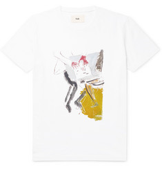 Folk + Goss Brothers Printed Cotton-Jersey T-Shirt
