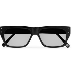 Cubitts Tankerton Rectangle-Frame Acetate Sunglasses