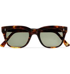 Rufford D-frame Tortoiseshell Acetate Sunglasses - Tortoiseshell