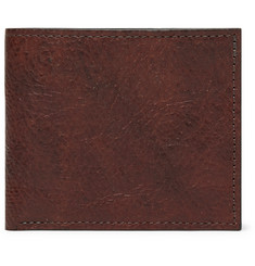 George Cleverley 1786 Russian Hide Textured-Leather Billfold Wallet