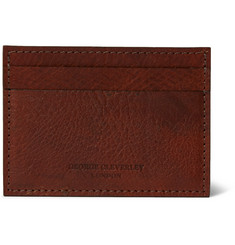 George Cleverley 1786 Russian Hide Cross-Grain Leather Cardholder