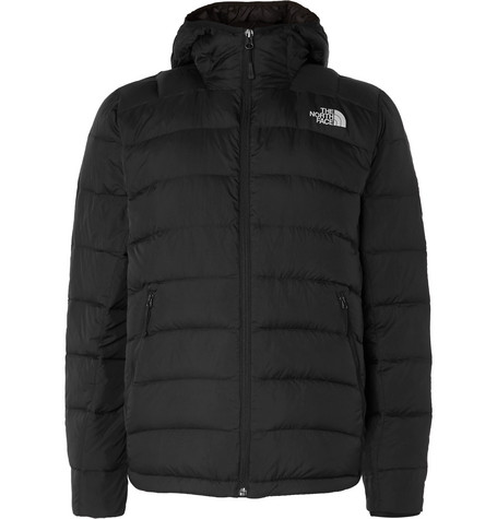 La Paz Packable Quilted Ripstop Shell Hooded Down Jacket by The North Face