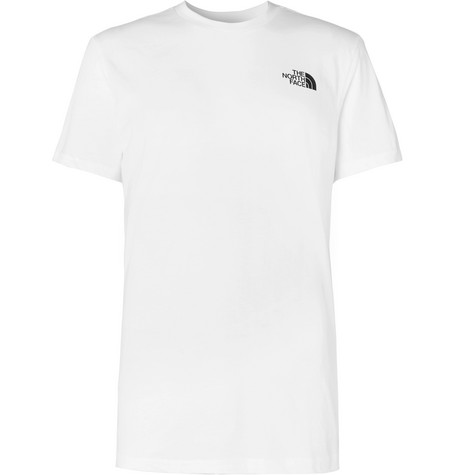 3520e80c8 The North Face - Dome Logo-Print Cotton-Jersey T-Shirt