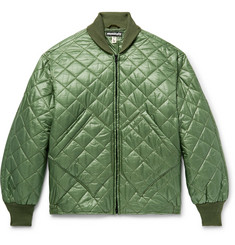 Monitaly Skyliner Quilted Nylon-Ripstop Bomber Jacket
