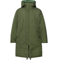 Monitaly Harry's Vancloth Cotton Oxford Hooded Parka