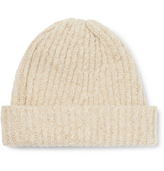 7d2673c428560 Inis Meáin - Ribbed Merino Wool and Cashmere-Blend Beanie
