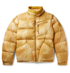 Moncler Genius 2 1952 Tie-Dyed Quilted Cotton Down Jacket