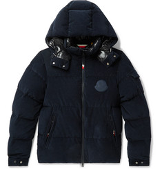 Moncler Genius 2 Moncler 1952 Quilted Cotton-Corduroy Hooded Down Jacket