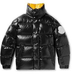 Moncler Genius 2 Moncler 1952 Quilted Glossed-Shell Down Jacket