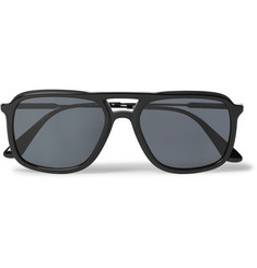 Prada Square-Frame Acetate and Titanium Sunglasses