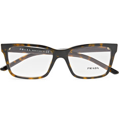 Prada - Square-Frame Tortoiseshell Acetate Optical Glasses