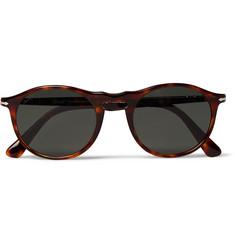 079f3379cf1db Persol Round-Frame Tortoiseshell Acetate Polarised Sunglasses