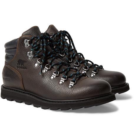 Madison Hiker Waterproof Full Grain Leather Boots by Sorel