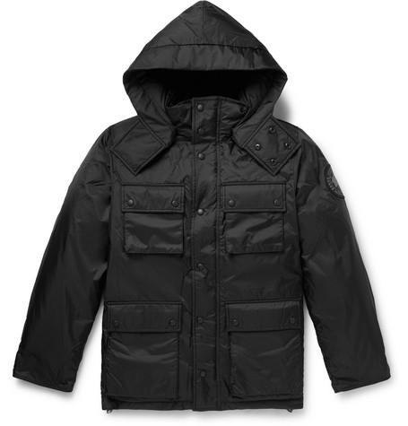 + Canada Goose Nylon Ripstop Hooded Down Jacket by Junya Watanabe