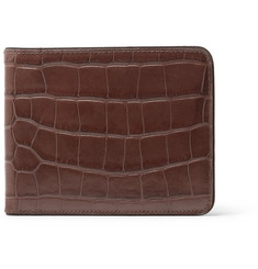 Dries Van Noten - Croc-Effect Leather Billfold Wallet