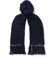 Dries Van Noten Tasselled Wool Scarf