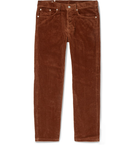 Cotton Corduroy Trousers by Dries Van Noten