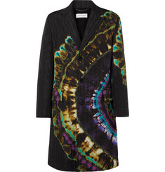 Dries Van Noten - Oversized Quilted Tie-Dyed Shell Coat