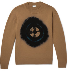 Dries Van Noten Tie-Dyed Merino Wool Sweater