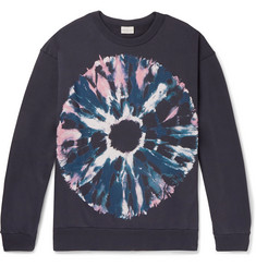 Dries Van Noten Oversized Printed Loopback Cotton-Jersey Sweatshirt