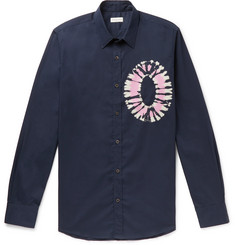 Dries Van Noten Slim-Fit Tie-Dyed Cotton-Poplin Shirt