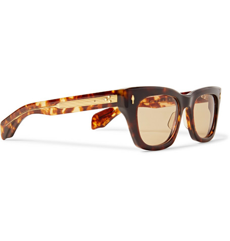 Dealan D Frame Tortoiseshell Acetate Sunglasses by Jacques Marie Mage