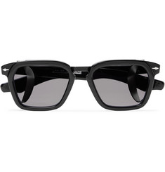 Jacques Marie Mage Borodino Square-Frame Acetate and Titanium Sunglasses