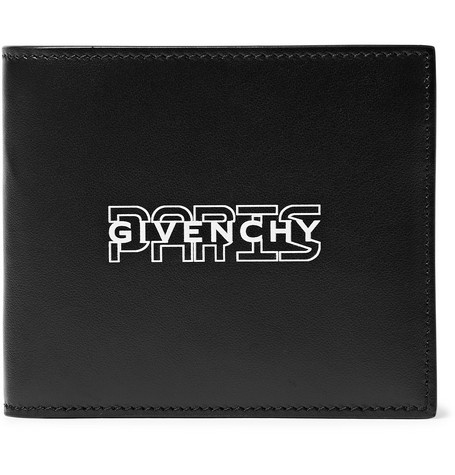 Givenchy Logo-Print Leather Billfold Wallet