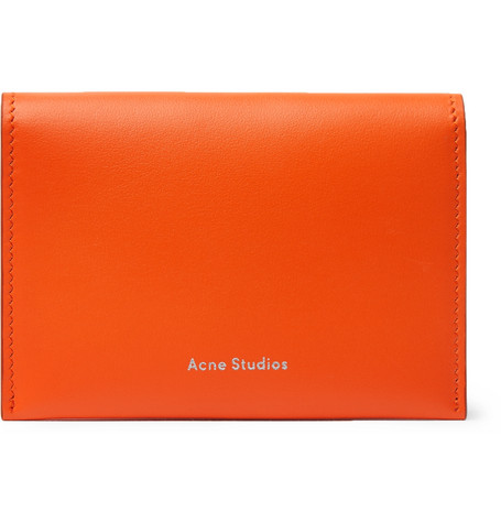 Acne Studios Leather Bifold Cardholder