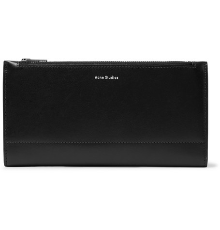 Acne Studios Travel Leather Travel Wallet