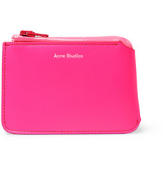 Acne Studios Logo-Print Leather Wallet