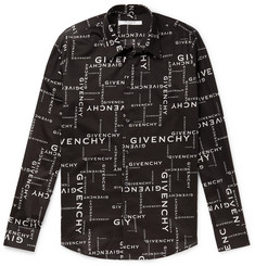 Givenchy Logo-Print Cotton Shirt