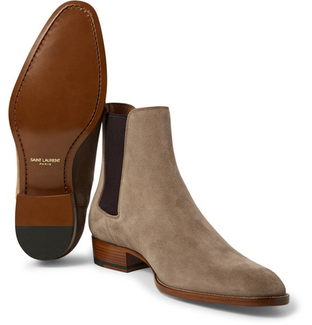 4b32fe4a6e9 Classic Wyatt 30 Chelsea Boot In Tobacco Suede in 9870 Light Cigare