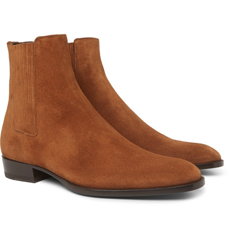 Suede Chelsea Boots - Tan