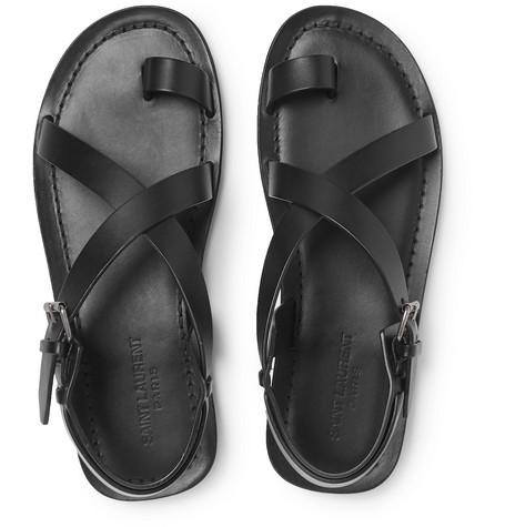 Saint Laurent Sandals Nu Pieds Leather Sandals