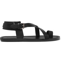 Saint Laurent Nu Pieds Leather Sandals