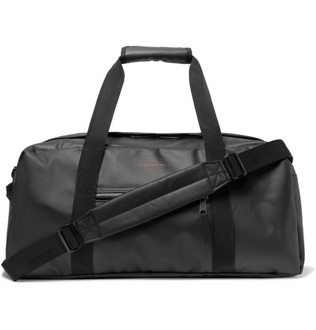 Stand + Topped Waxed Shell Duffle Bag by Eastpak