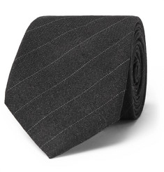 Berluti 6cm Pinstriped Wool and Mulberry Silk-Blend Tie