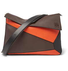 Loewe - Puzzle Full-Grain Leather Messenger Bag