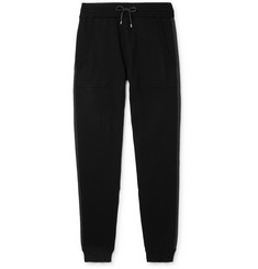 Zimmerli Slim-Fit Contrast-Tipped Cotton and Cashmere-Blend Sweatpants